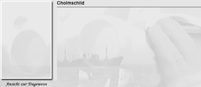 Cholmschild in der Kriegsmarine